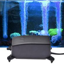 Small Silent Aeration Pump Aquarium Oxygen Non-slip Shockproof Base