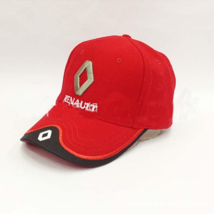 96e5f083815 Free Shipping New F1 Renault Racing Team sports car racing hat sun visor  cotton caps 4 colors C55F