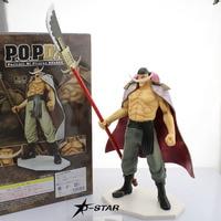 Free Shipping 14 One Piece Anime P.O.P EX Whitebeard Edward Newgate Boxed 35cm PVC Action Figure Model Doll Toys Gift