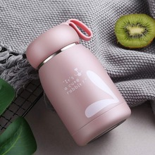 Stainless Steel thermos Bottle Thermal Mug Vacuum Flasks Belly Cup Bottle For Water Insulated Tumbler For kids coffee animal Cup