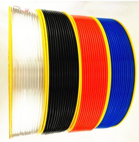 Pneumatic Air Hose Tube OD 6MM ID 4MM Plastic Flexible Pipe PU 6*4 Polyurethane Tubing PU0604 6X4 MM