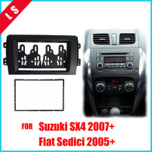 цены 2 Din Car Double 2DIN Refitting Radio Stereo DVD Frame Fascia Dash Panel Installation Kits For SUZUKI SX4 Fiat Sedici 2005-2010