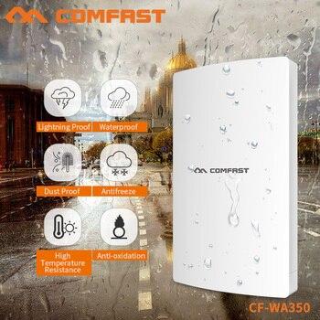 COMFAST Outdoor Waterproof Wifi Router/AP 1300Mbps High Power Wifi Repeater Gigabit Wireless 5G+2.4G Wi-fi Range CF-WA350