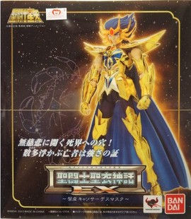 <font><b>Bandai</b></font> MODEL <font><b>SAINT</b></font> <font><b>SEIYA</b></font> Gold <font><b>CLOTH</b></font> <font><b>MYTH</b></font> EX Cancer Deathmask Action Figure cavaleiros do zodiaco image