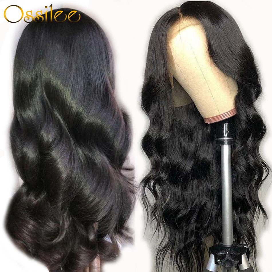 Pre Plucked Full Lace Human Hair Wigs Body Wave Wig Human