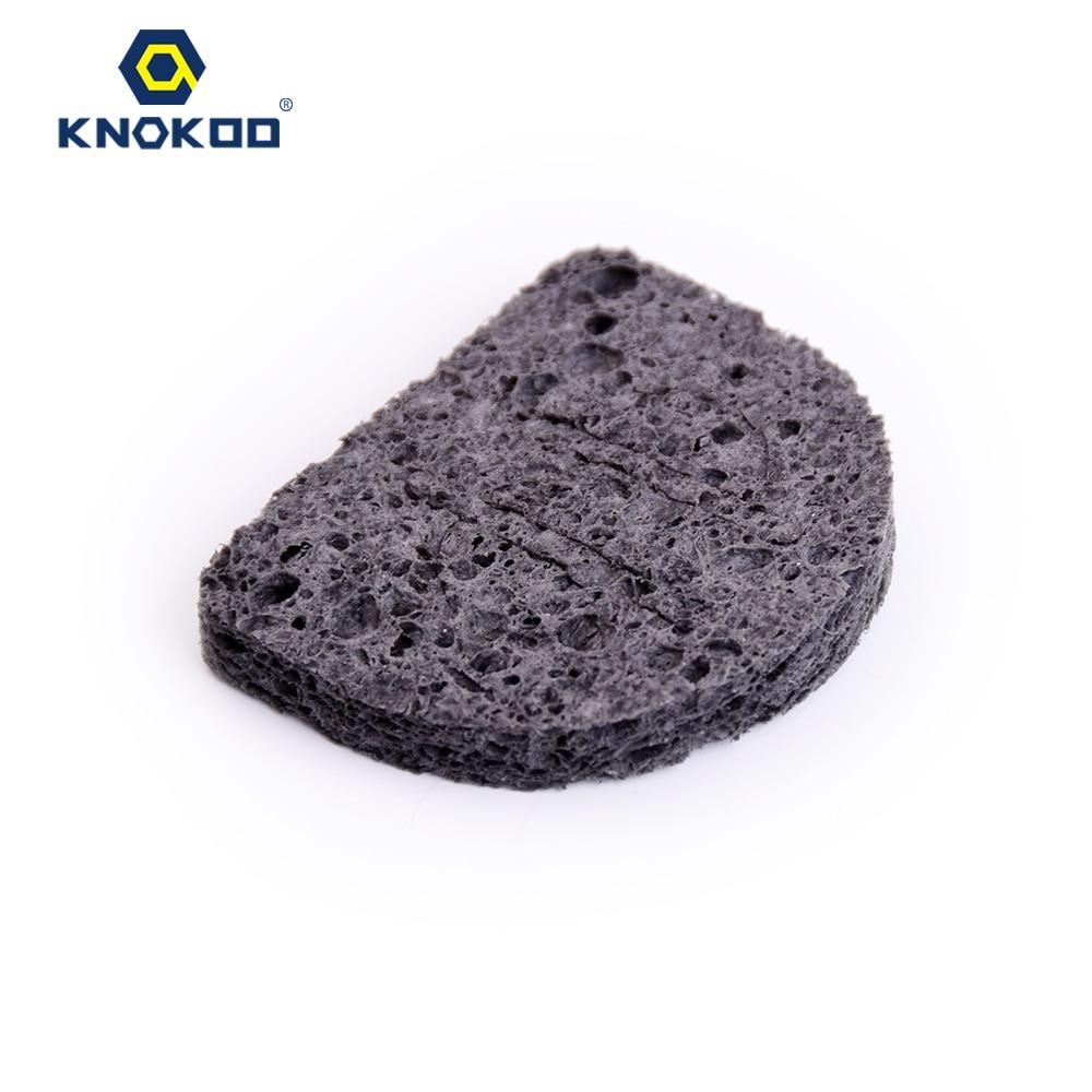 KNOKOO 10PCS/lot KNOKOO A1559 Soldering Iron Tip Cleaning Sponge For FX-888 /FX-888D Soldering Station
