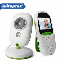 VB602 Wireless 2.0 inch Video Color Baby Monitor Security Camera Baby Nanny Intercom Night Vision Temperature Monitoring