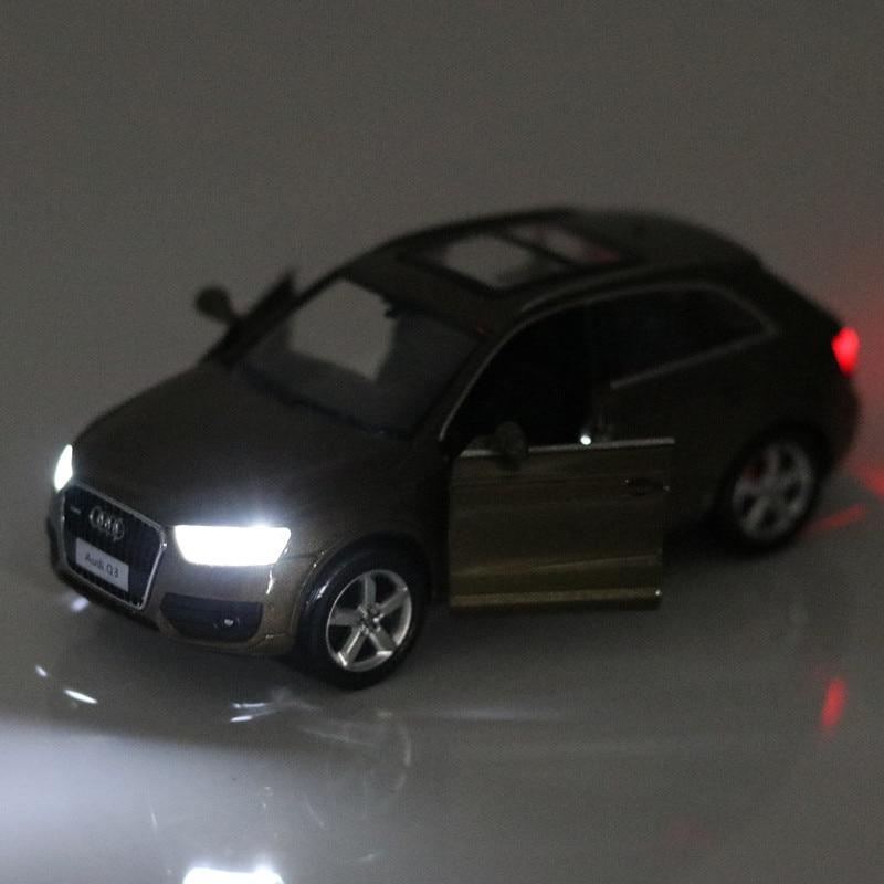 Zxz 1 32 Free Shipping Audi Q3 Supercar Alloy Diecast Car Model Pull