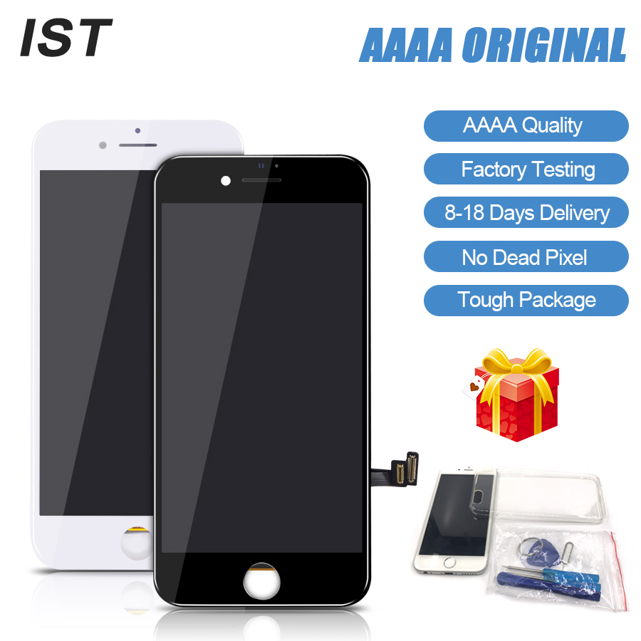 IST 100% AAAA Original Bildschirm LCD Für iPhone 8 Plus Bildschirm LCD Ersatz Display Touch Digitizer Werkzeug Kits Bildschirm 8 plus LCDS