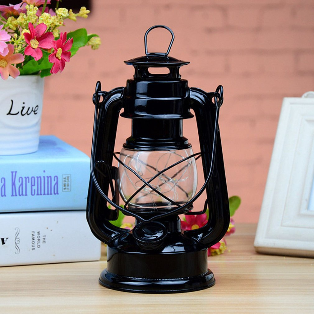 2018 New Vintage Loft Industrial Lantern Kerosene Oil Pendant Horse Lamp Fixture Droplights for Aisle Dining Room Cafe Balcony