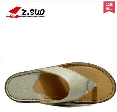 Z suo women summer slip resistant flip flops fashion female flip slippers sandals