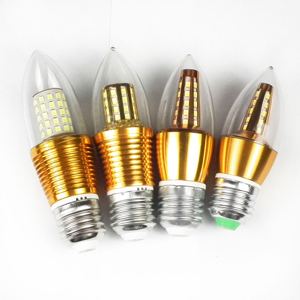 E27 220v led lamp corn bulb e14 lampada led bombillas for Lampada led e14