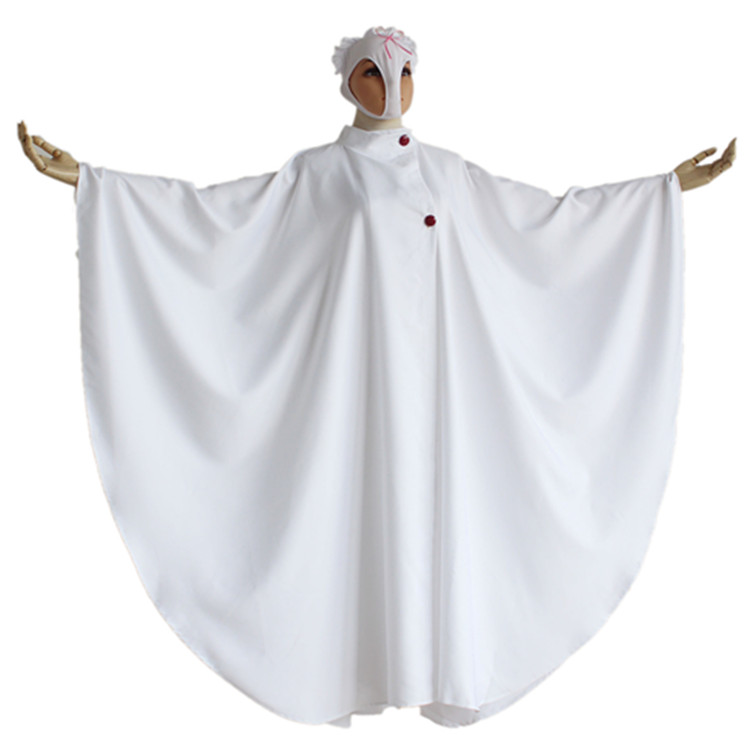 Shimoneta to Iu Gainen ga Sonzai Shinai Taikutsu na Sekai Kajo Ayame SOX Church leader Cosplay Costumes Halloween Cloak and Mask