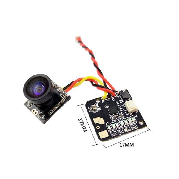 цена на Turbowing 5.8G 25mw 700TVL Wide Angle 48CH Transmitter Mini FPV Camera NTSC/PAL Combo for FPV RC Quadcopter mini Racing Drone