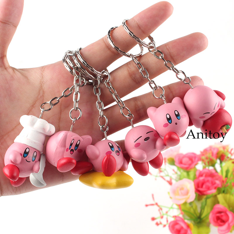 Kirby Toys Cute Keychains