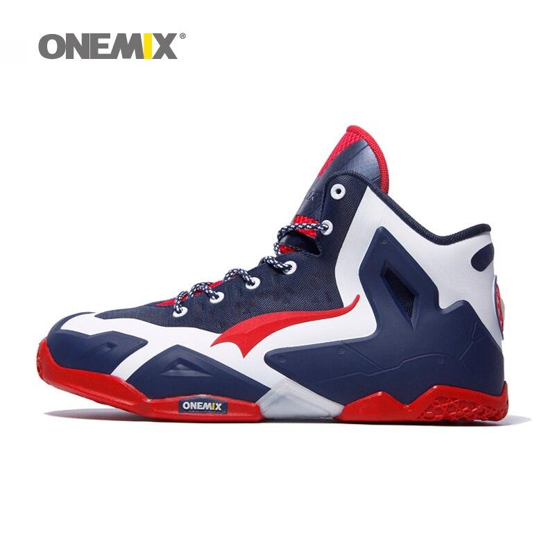 купить Onemix Basketball Shoes Men Powerful Original Quality Basket Home Authentic LB Mens Athletic Snekaer по цене 6255.77 рублей