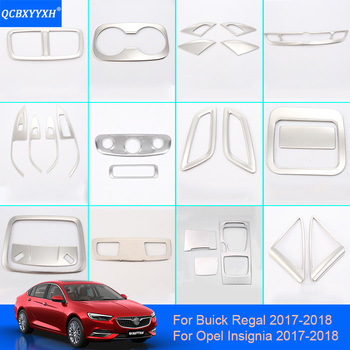 QCBXYYXH Car Styling Internal Decoration Sticker For Buick Regal Opel Insignia 2017 2018 Headlight Switch Button Sequins Outlet executive car