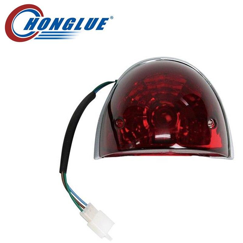 Honglue Für YAMAHA 4 t VINO Motorrad roller rücklicht montage Hinteren bremsleuchte montage