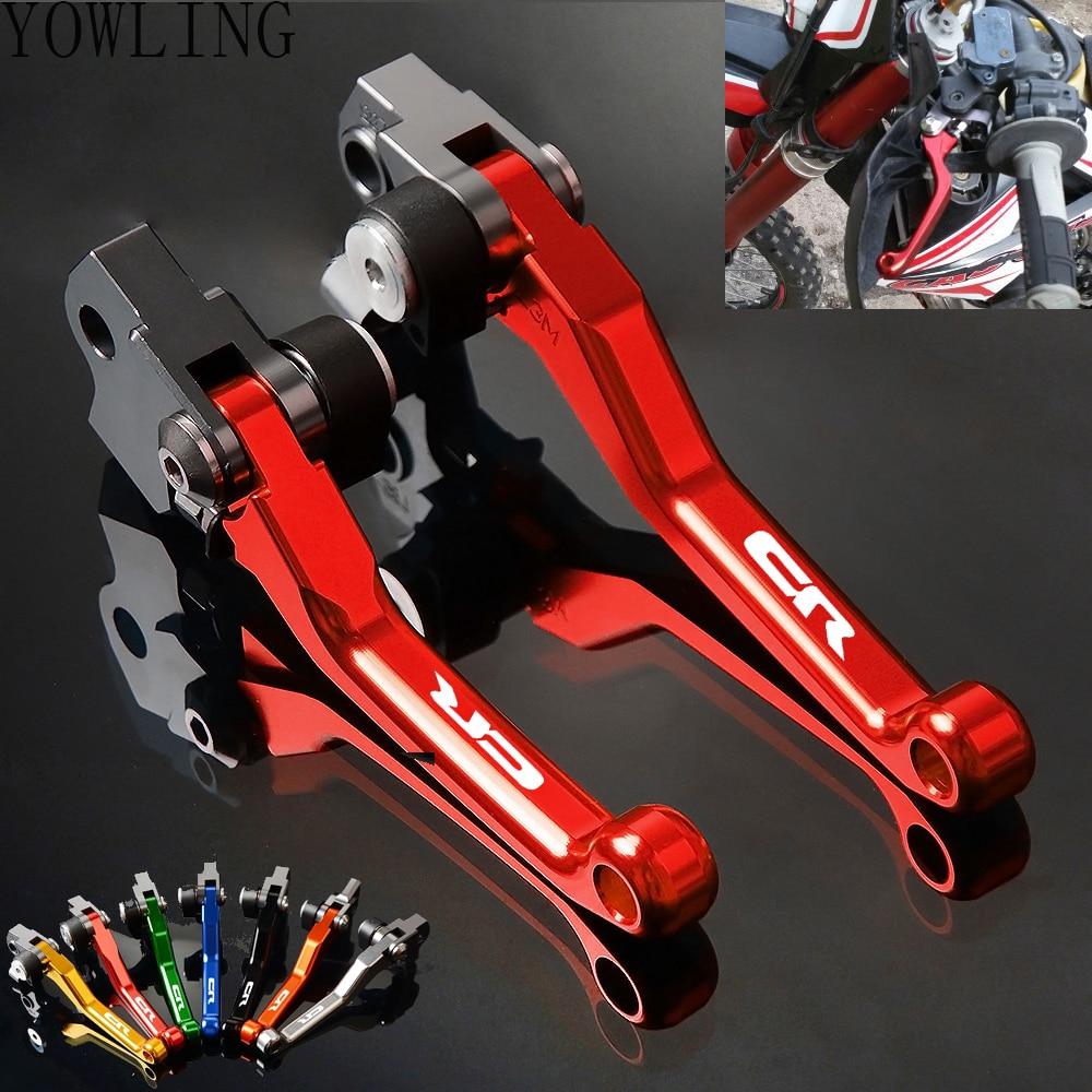 For Honda CR80//85R//250R//500 CRF150R//125R//450F//250R CNC Pivot Brake Clutch Levers