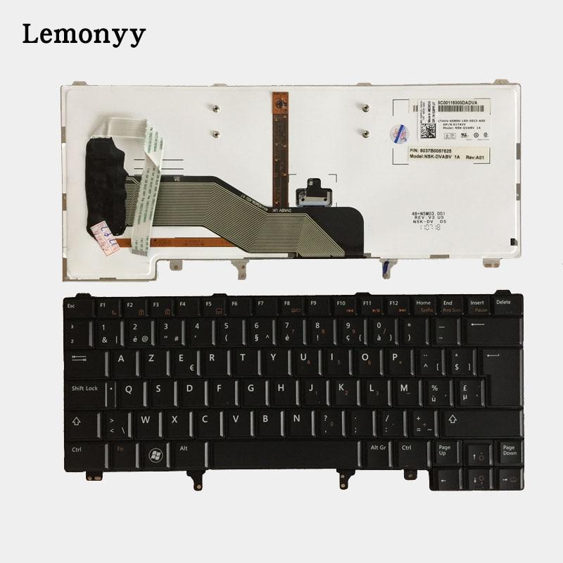 New Belgium Keyboard For Dell Latitude E5420 E5430 E6220 E6230 E6320 E6330 BE Laptop Keyboard With Backlit шина sava eskimo suv 235 60 r18 107h зима н ш