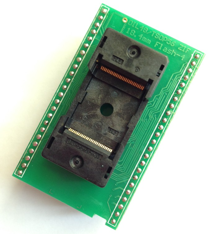 DIL48/TSOP56 ZIF 18.4mm FLASH-4 (x16)  Burner Special Burner