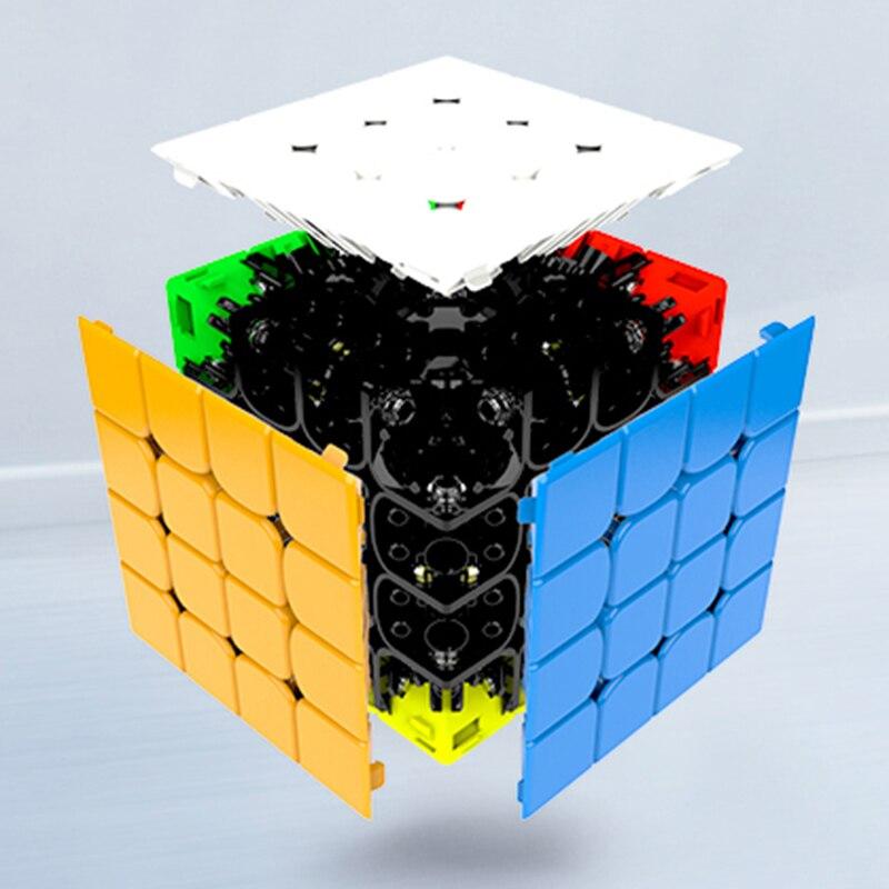 GAN460 M 4*4*4 Magnétique Professionnel Magic Speed Cube GAN 460 Éducatifs 4x4x4 puzzle Jouets Pour Enfants L'apprentissage Cubo jouets magiques - 4