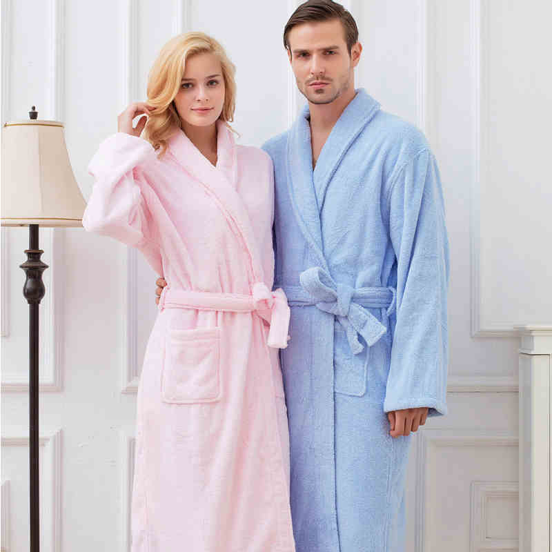 e044e094ce cotton bathrobe hooded robe white top quality super soft cotton towel  bathrobe
