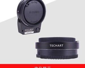 Image 3 - 新techart LM EA7 6.0 iiオートフォーカスレンズライカm lmレンズソニーnex A7RII A6300 A9 a7SIIカメラレンズアダプタ