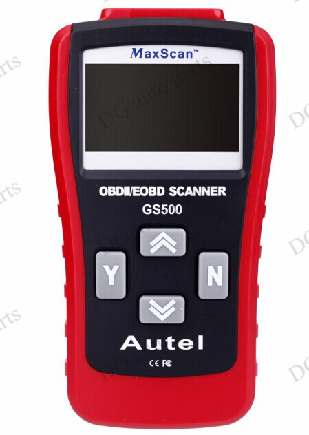 GS500 OBD2/EOBD Code Reader Scanner Tools Car Professional Auto Diagnostic Tools Autel MaxScan free shipping