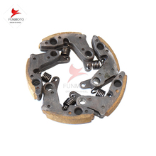 one set Clutch Pads  with spring of CF MOTO 500 ATV /CF625 terra cross 0180-054200 one set include 5 pcs pads