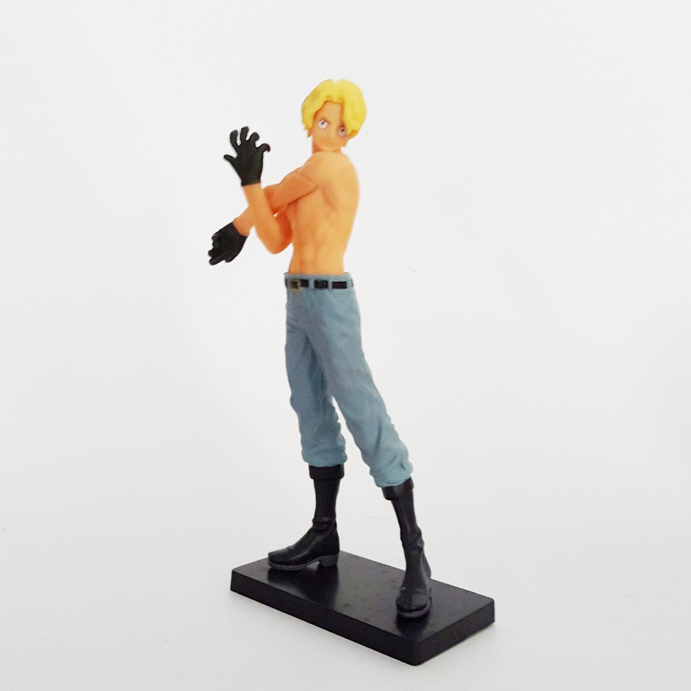 Tobyfancy One Piece The Naked Sabo Luffy Figure Onepiece Anime Collectible Model Toy 160mm Sabo Doll