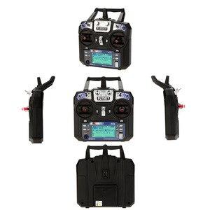 Image 2 - Original Flysky FS i6 FS I6 2.4G 6ch RC Transmitter Controller FS iA6 / FS iA6B Receiver for RC Racer Glider Drone/Aircraft