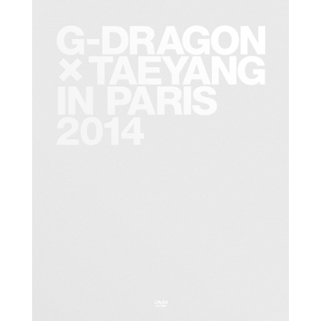 G-DRAGON X TAEYANG IN PARIS 2014 [PHOTO BOOK + 1 POLAROID POSTER + POSTER ON PACK] Release Date 2014-06-18 KPOP ALBUM 2014 bigbang a concert in seoul 1 photo book release date 2014 07 02 kpop