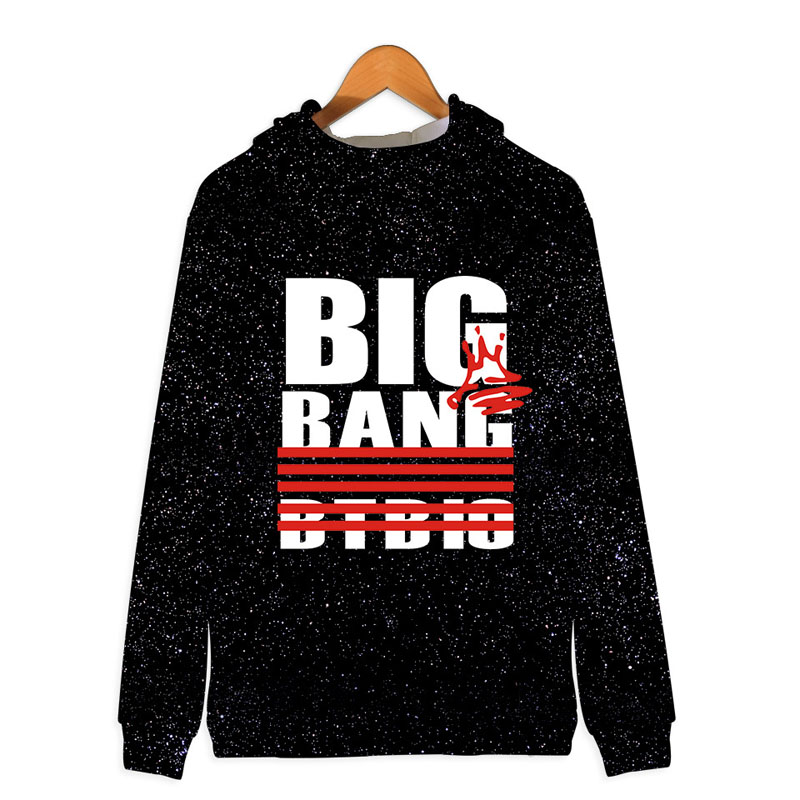 fc5cfede6063 Αντρικές μπλούζες με κουκούλα   φούτερ BIGBANG Kpop Zipper 3D Hoodies  Sweatshirt Women Men Harajuku BIG BANG Bangtan Hoodie Hip Hop Kawaii  Tracksuit Clothes ...