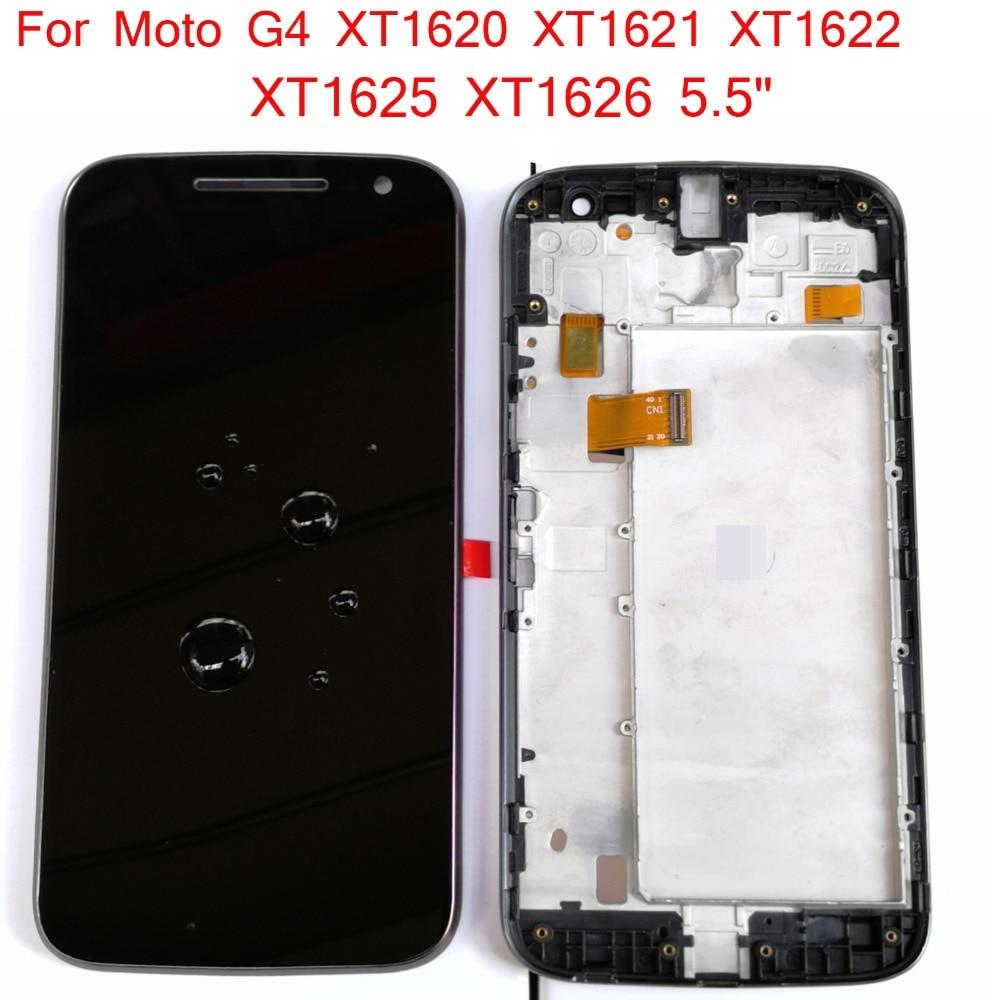"Shyueda IPS AAA+ 5.5"" For Motorola Moto G4 / G 4th Gen XT1620 XT1621 XT1622 XT1625 XT1626 LCD Display Touch Screen Digitizer"