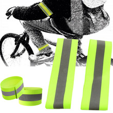 New Luminous Night Reflective Safety Belt Night Run Armband For Outdoor Sports Night Running Cycling Jogging Arm Strap Arm Band