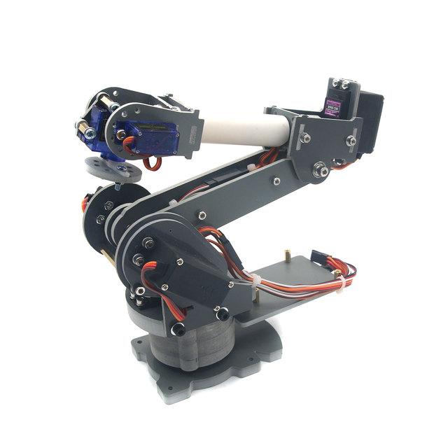 ABB Robótica Braço Rack com Servos 6DOF Robô Mecânico Braço Liga para Arduino Board Montado