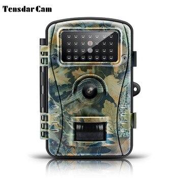 ראיית לילה שביל מצלמה משחק ציד מצלמה 8MP 720 p HD אין זוהר אינפרא אדום חיצוני מעקב חיות בר מצלמות מלכודת