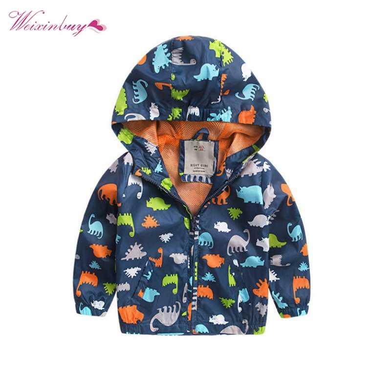 男の子もみじ冬かわいいパターン長袖ソフトシェルジャケット子供のアクティブフード付きコート 2-6 年 QF