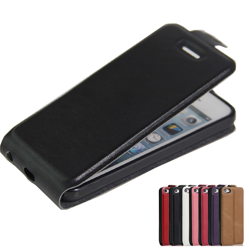 Para Apple iPhone SE / 5S Case Capa de Couro PU de luxo Para iphone 6s Plus Para iPhone 7 / iPhone 8 Plus Case Flip Phone Bag Protective