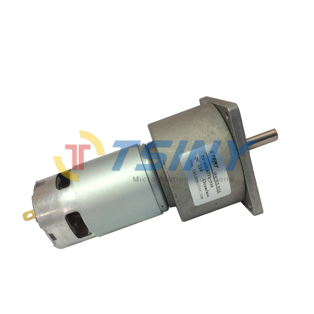 Free shipping high torque motor gear box 12v speed 13rpm for 12v high speed motor