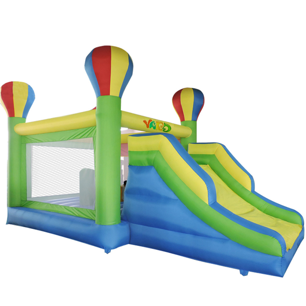YARD Big Jumping Bounce House Trampoline Toys Oxford Inflatable Bouncer Bouncy Castle Game with Slide for Kids  yard dhl free shipping inflatable bouncer bouncy jumper colorful castle with long slide for kids