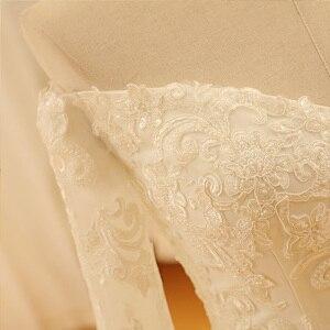 Image 5 - SL 521 ヴィンテージ恋人のレースのアップリケのウェディングドレス 2018
