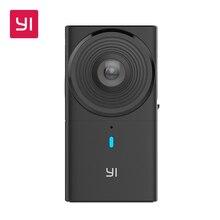YI 360 VR Caméra 220 degrés Double Lentille 5.7 K/30fps Immersive flux En Direct Sans Effort Panoramique Caméra appareil photo Numérique