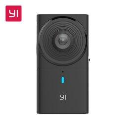 Yi 360 VR Камера 220 градусов Двойной объектив 5.7 К/30fps погружения Транслируй усилий панорамный Камера цифровой Камера