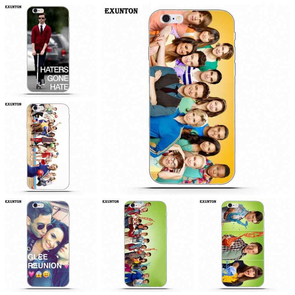 TPU Case For Apple iPhone 4 4S 5 5C SE 6 6S 7 8 Plus X For Apple iPhone 4 4S 5 5C SE 6 6S 7 8 Plus X Glee Character