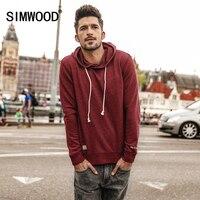 SIMWOOD 2017 Men Hoodies New Autumn Fashion Sweatshirt Male Casual Moletom Masculino Slim Fit Plus Size