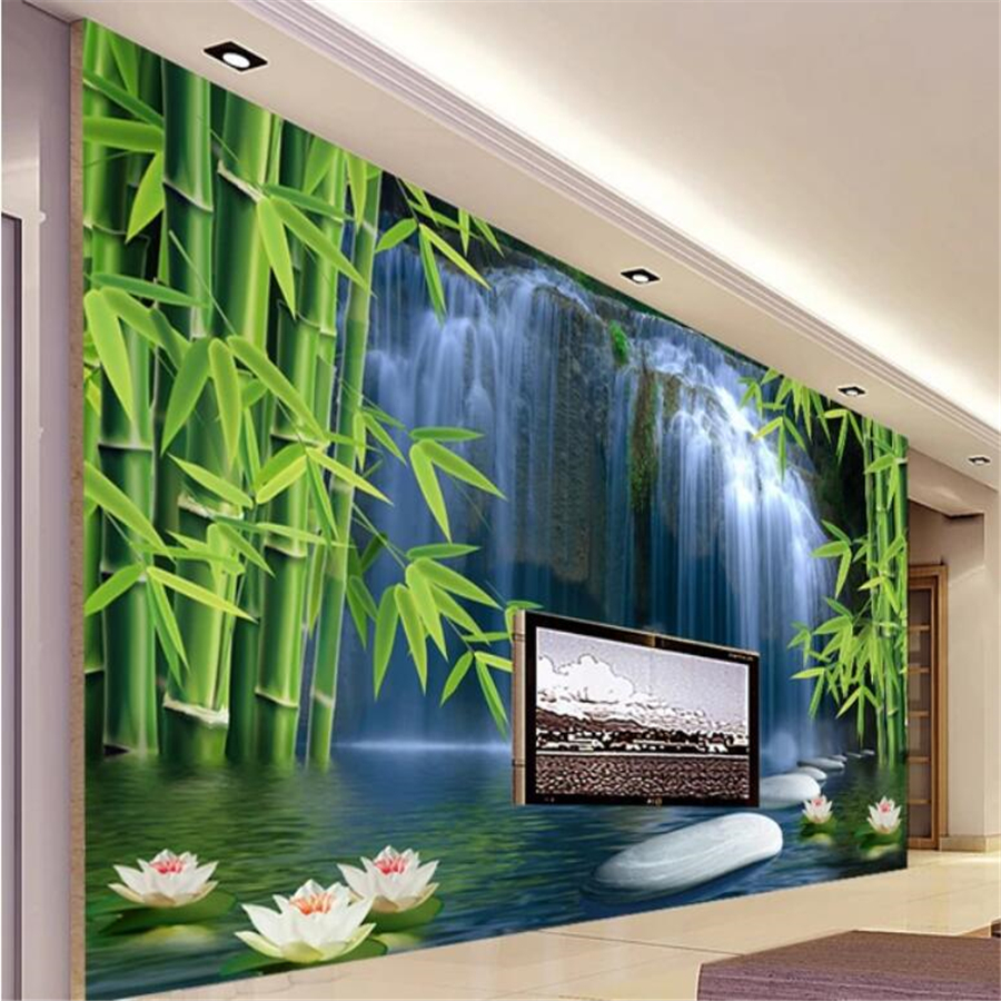 Beibehang Custom Wallpaper Papel De Parede 3d Photo Mural Bamboo