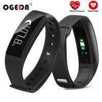 OGEDA Men Women Smart Watch Heart Rate Blood Pressure Fitness Tracker Monitor Smart Clock Watch Fitness