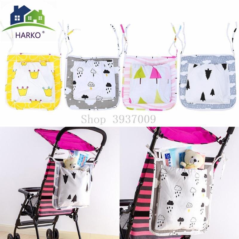 Baby-Stroller-Hanging-Basket-Storage-Bag-Baby-Carriage-Cot-Bed-Hanging-Bag-Crib-Organizer-Diaper-Pocket
